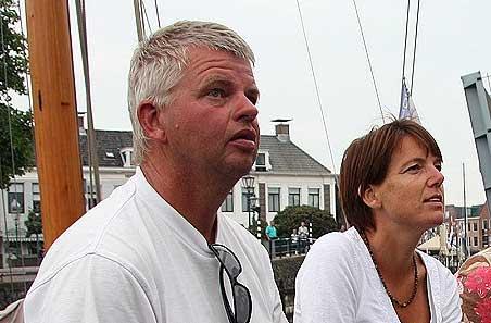 Willem Prins en voorzitster Karin Dekker van de stichting Lege Walden in 2012